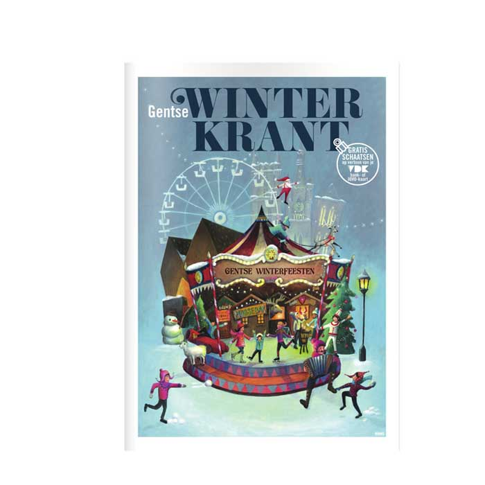 Illustratie voor de Gentse Winterkrant door Annelies Fraeyman