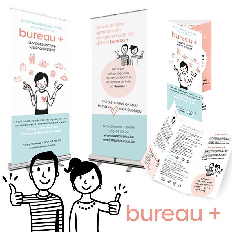 bureau plus illustratie en grafisch ontwerp - illustra'lies