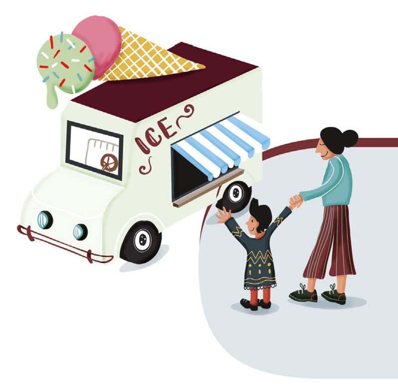 detail uit illustratie voor VVSG - burgemeesters verpakking doos - illustra'lies