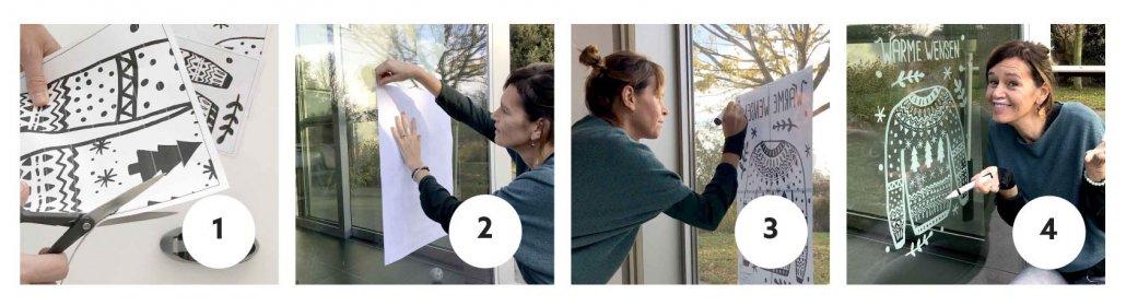 Maak je raamtekening in 4 stappen
